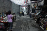 Bazaar outside the Great Mosque; Beiyuan Men Muslim Street