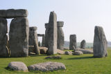 Henge monument and megalithic stone circle