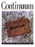 Continuum 2000 Summer (Vol. 10, no. 1)