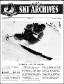 Utah Ski Archives Newsletter, Fall 1992, No. 1