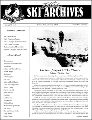 Utah Ski Archives Newsletter, Spring 1995, No. 6