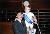 75th Anniversary - Boy with March of Dimes sash
