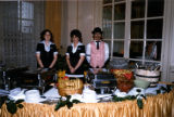 75th Anniversary Banquet, servers [4]