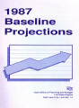 1987 baseline projections