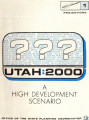 Utah:2000 a high development scenario