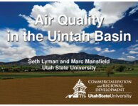 Air quality in the Uintah Basin