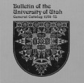 1974-75 General Catalog; University of Utah catalogue; (Catalog)