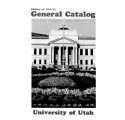 1971-73 General Catalog; University of Utah catalogue; (Catalog)