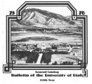 1975-76 General Catalog; University of Utah catalogue; (Catalog)