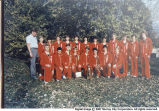 1984 Murray High School Cross Country team.
