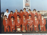 1981-82 Murray High School Cross Country Team