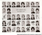 1964-65 sixth grade class at Liberty Elementary School