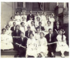 8th grade graduation from Arlington School in 1911