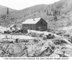 Ontario Mine fire aftermath