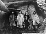 Men underground in mine
