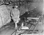 Miner in Spiro Tunnel