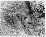Miners working in Daly West