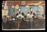 Block printing, Meiji period: People [005]