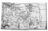 Map of Ute Territory by Band