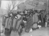 Navajo people at a party