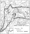 Boundary of Shoshone Indian Territory according to Swanton, 1952.
