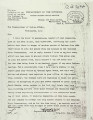 Agent Hall to Commissioner dated Sept. 6, 1907