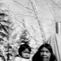 Woman and baby; Cedar City, Iron County, Utah