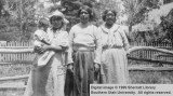 Four generations of Paiute women; Cedar City, Iron County, Utah
