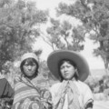 Jane Lehi, Annie Puthoie, Bessie Box, and Katie Deer; Allen Canyon, San Juan County, Utah;