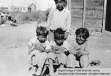 Four unidentified boys