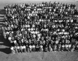 Group photo of the Intermountain School student body;