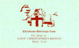 St. Christopher's Mission Christmas Card