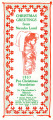 St. Christopher's Pre-Christmas Newsletter dated 1957;