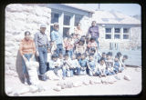 A group of Navajo children.