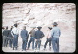 A group of Navajo men;
