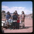 A group of Navajo children and teenagers (I);