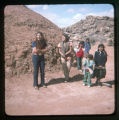 A group of Navajo children and teenagers.