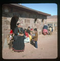 A group of Navajos at St. Mary's of the Moonlight;