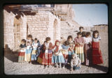 A group of Navajo children at St. Christopher's Mission.