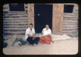 A Navajo couple (Bonelle).