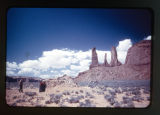 The Three Sisters, Monument Valley.