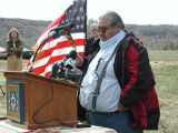 Bear River Massacre site press conference;