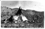 A Shoshoni Indian Home