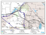 Shoshone Bannock/ Northwestern Soshone Reservations Geothermal Resource Map;