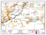 Pauite Reservation Wind Resource Map;