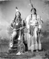 Buckskin Charley, Ute Chief and To-Wee, His Squaw