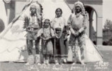 Chief Old Eagle & family