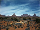 Monument Valley, Sandstone monoliths;