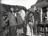 Navajo people at a party [9];