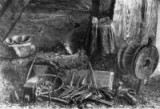 Workshop of a Navajo silversmith